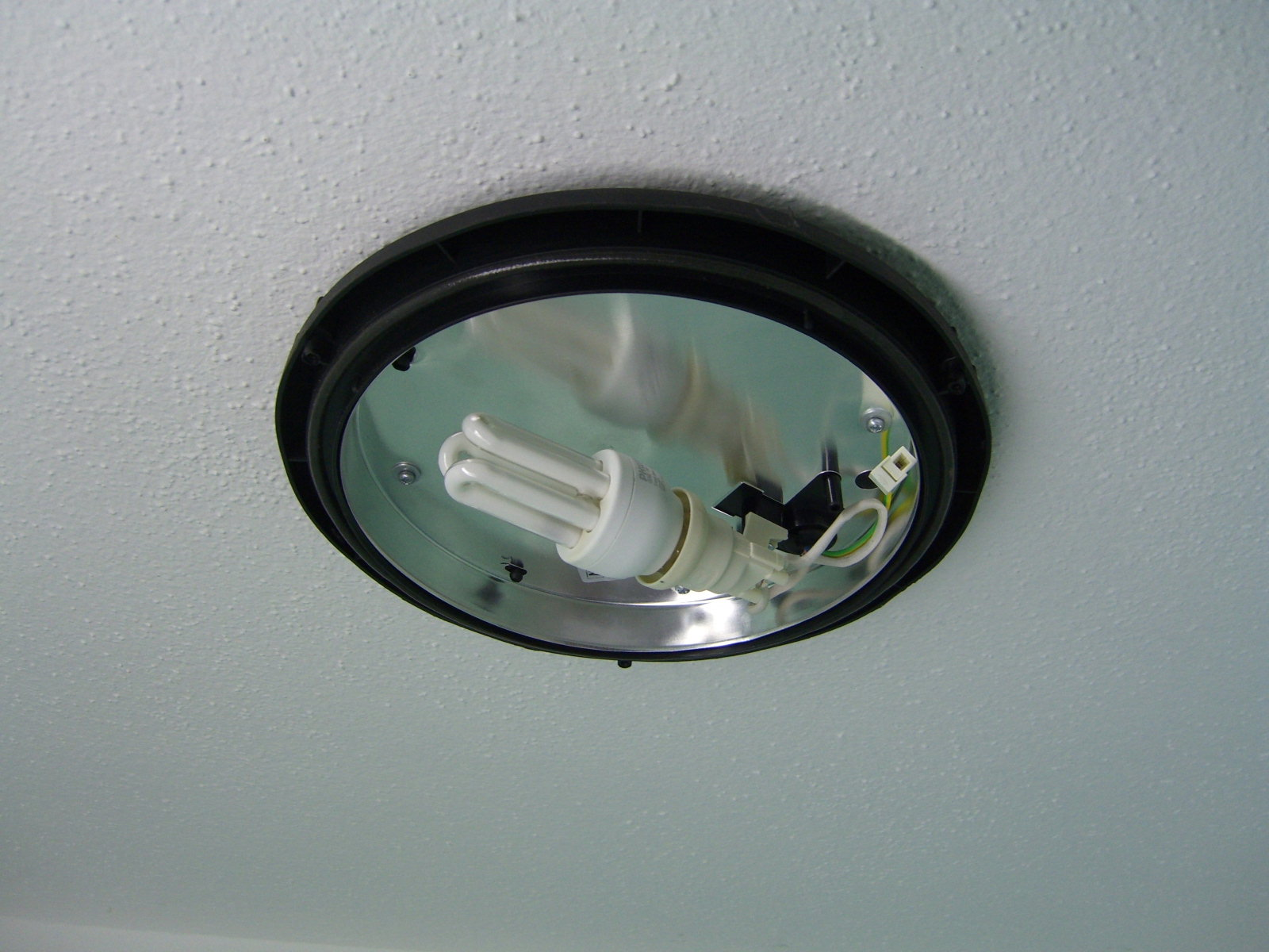 lampe in der dusche installieren. Black Bedroom Furniture Sets. Home Design Ideas