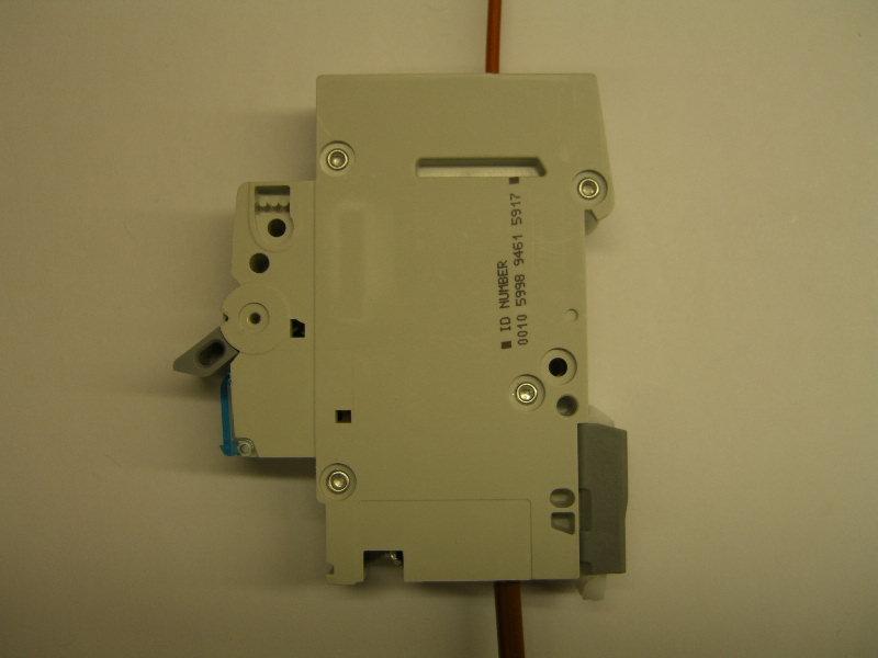 Leitungsschutzschalter Sicherungsautomat Anschliessen Und