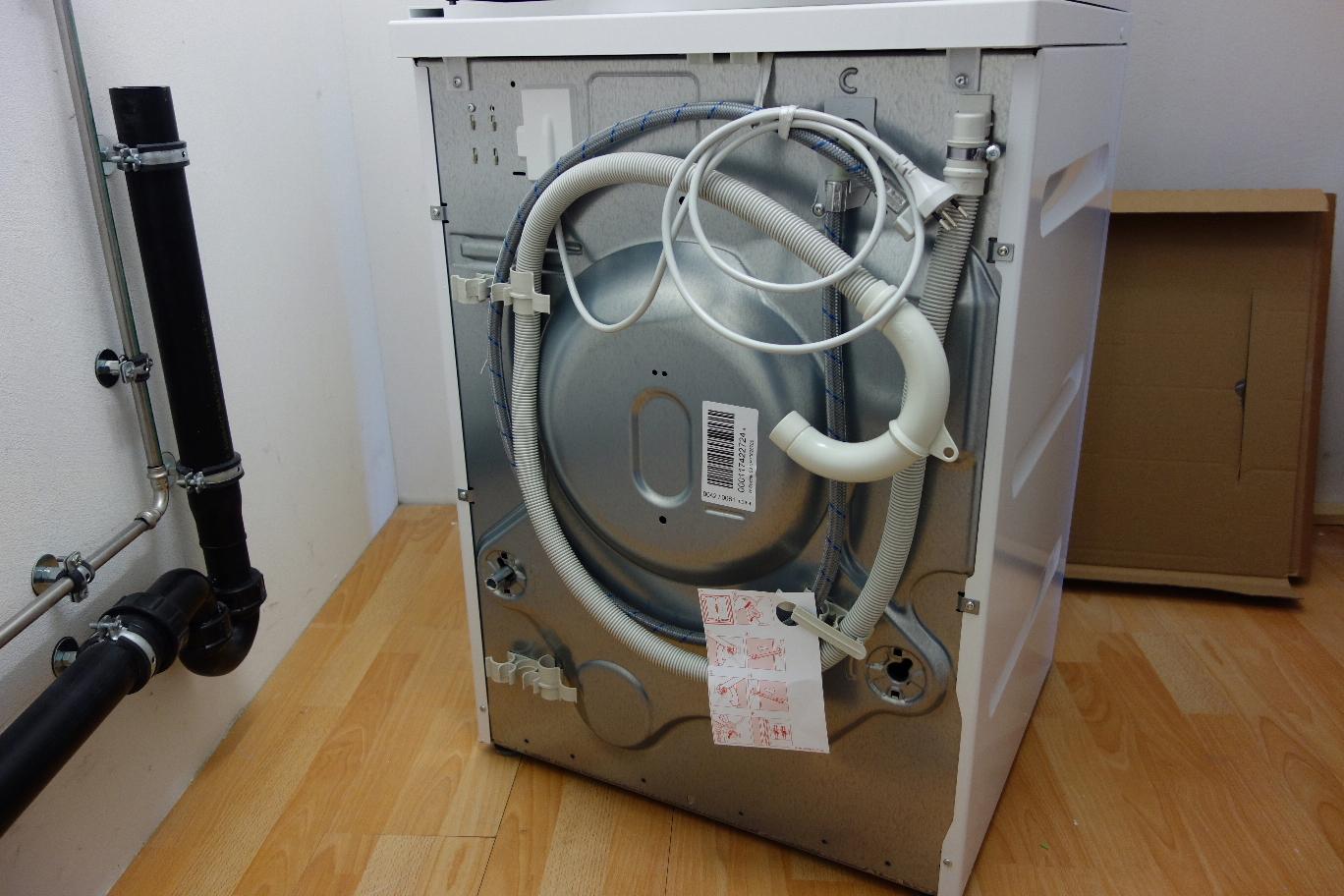 Bevorzugt Waschmaschine und Wäschetrockner anschließen - Elektricks.com BZ65