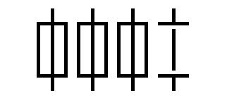 Symbol Diazed Schmelzsicherung 3LN, allpolig