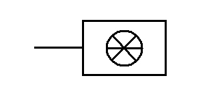 Symbol Kühlapparat