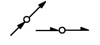 Symbol Leitung vertikal durchgehend