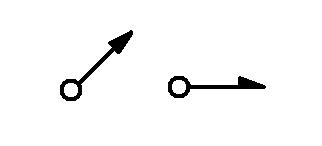 Symbol Leitung von oder nach oben