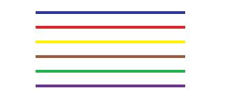 Symbol Leitungsfarben