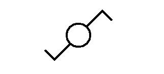 Symbol Lichtschalter Wechselschaltung