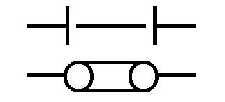 Symbol Trennstelle