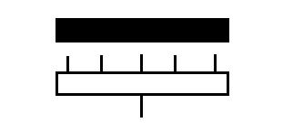 Symbol Verteilkasten