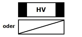 Symbol Verteilkasten Hauptverteilung