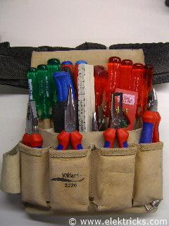 Elektriker Werkzeugtasche019