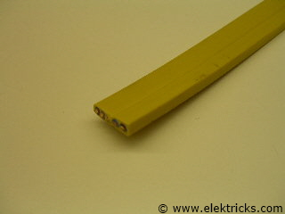Flachkabel 5x2,5mm