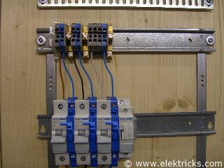 Stromstoßschalter, Schrittschalter anschliessen und verdrahten010
