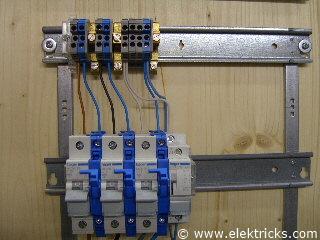 Stromstoßschalter, Schrittschalter anschliessen und verdrahten014