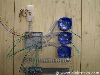Stromstoßschalter, Schrittschalter anschliessen und verdrahten029