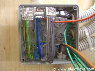 Stromstoßschalter, Schrittschalter anschliessen und verdrahten042