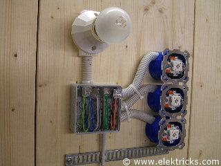 Stromstoßschalter, Schrittschalter anschliessen und verdrahten047