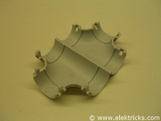 T-Stück PVC Elektrorohr