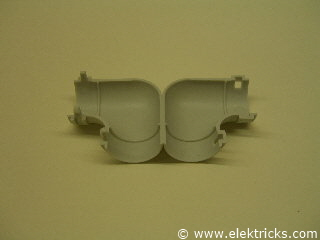 Winkel PVC Elektrorohr 2