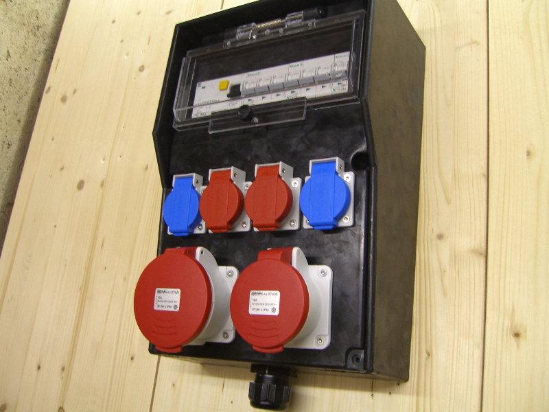 Baustromverteiler verdrahten - Elektricks.com