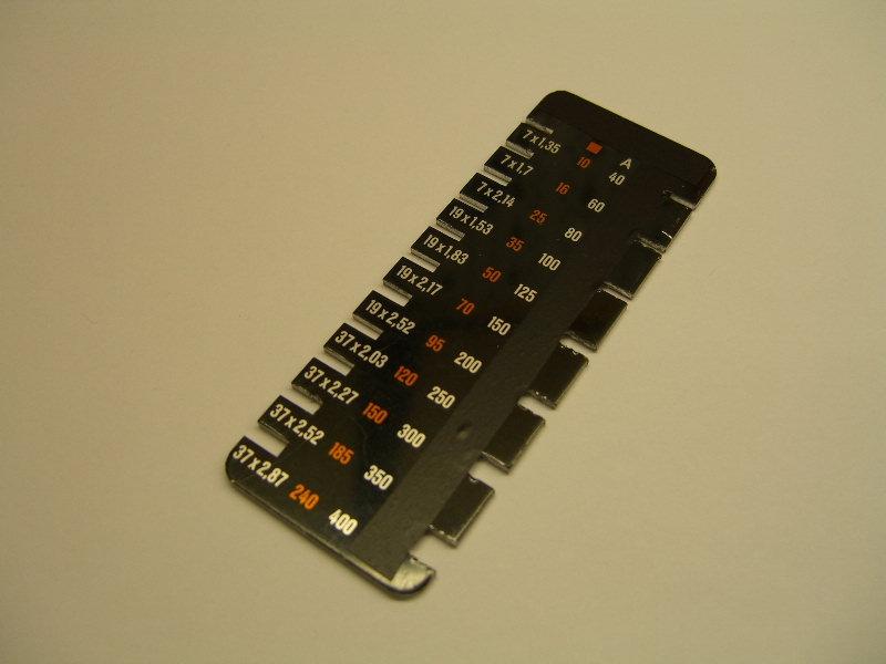 Kabelquerschnitt messen - Elektricks.com