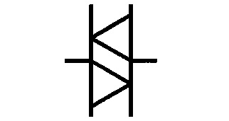 Symbol Diac, Zweirichtungsdiode