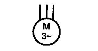 Symbol Drehstrom-Asynchronmotor