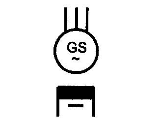 Symbol Drehstrom-Synchrongenerator