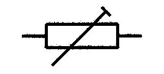 Symbol Einstellwiderstand (Trimmer)