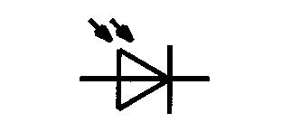 Symbol Fotodiode