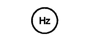 Symbol Frequenzmesser