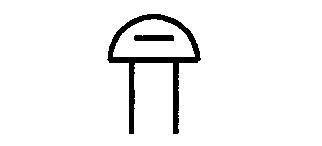 Symbol Gleichstromwecker