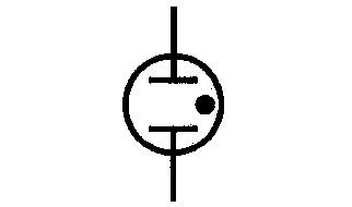 Symbol Glimmlampe
