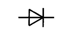 Symbol Halbleiterdiode, allgemein