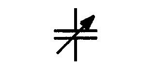 Symbol Kondensator verstellbar