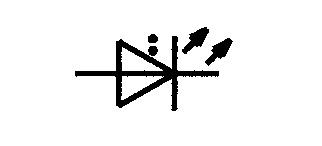 Symbol Leuchtdiode LED