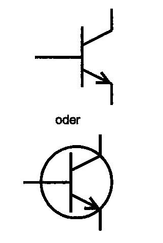 Symbol NPN-Transistor