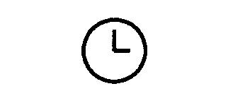 Symbol Uhr, allgemein