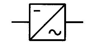 Symbol Wechselrichter