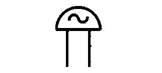 Symbol Wechselstromwecker